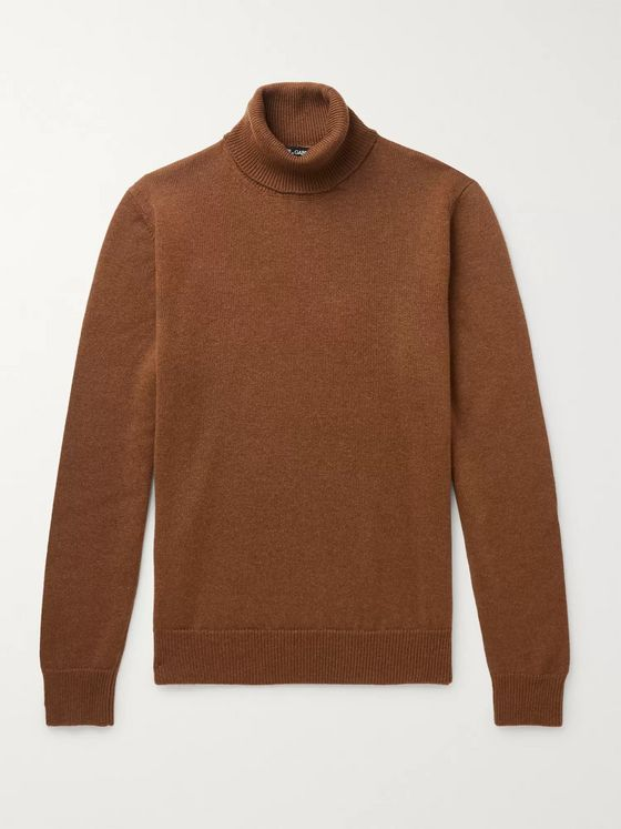 Dolce & Gabbana Cashmere Rollneck Sweater