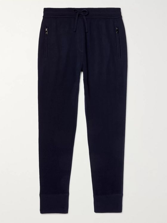 Dolce & Gabbana Slim-Fit Tapered Cashmere-Blend Sweatpants