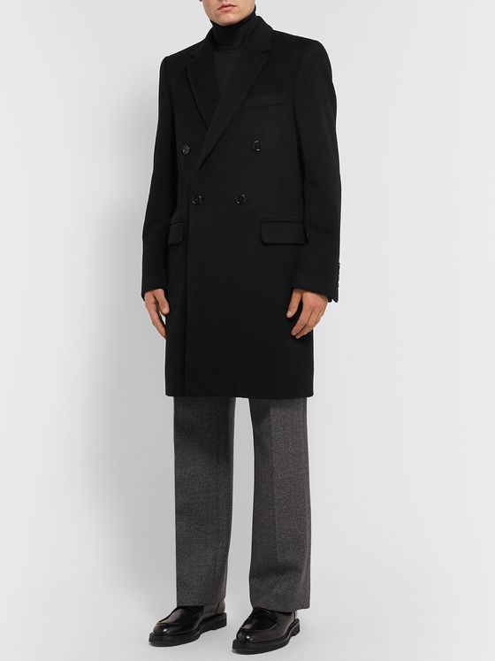 Dolce & Gabbana Wool and Cashmere-Blend Coat