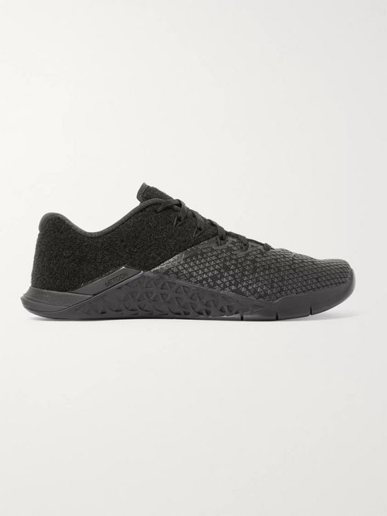 Nike Training Metcon 4 XD Patch Mesh and Velcro Sneakers