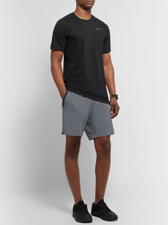 Nike Training Flex Tech Pack Wide-Leg Stretch-Shell Shorts