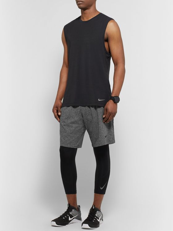 Nike Training Mélange Dri-FIT Shorts