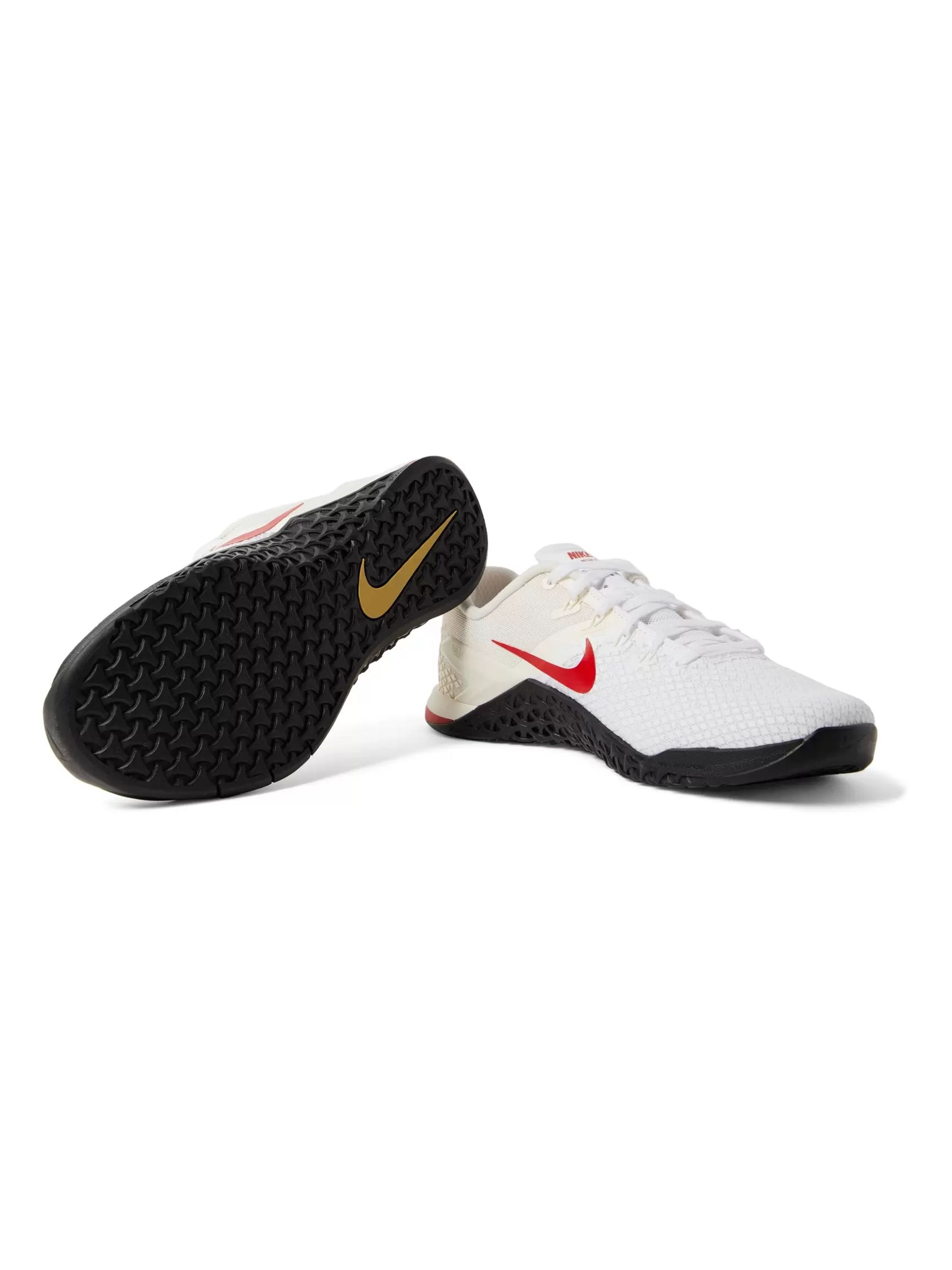 Nike Training Metcon 4 XD X Rubber-Trimmed Mesh Sneakers