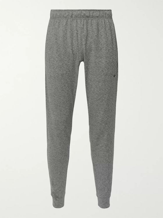 Nike Training Tapered Space-Dyed Dri-FIT Stretch-Jersey Yoga Sweatpants