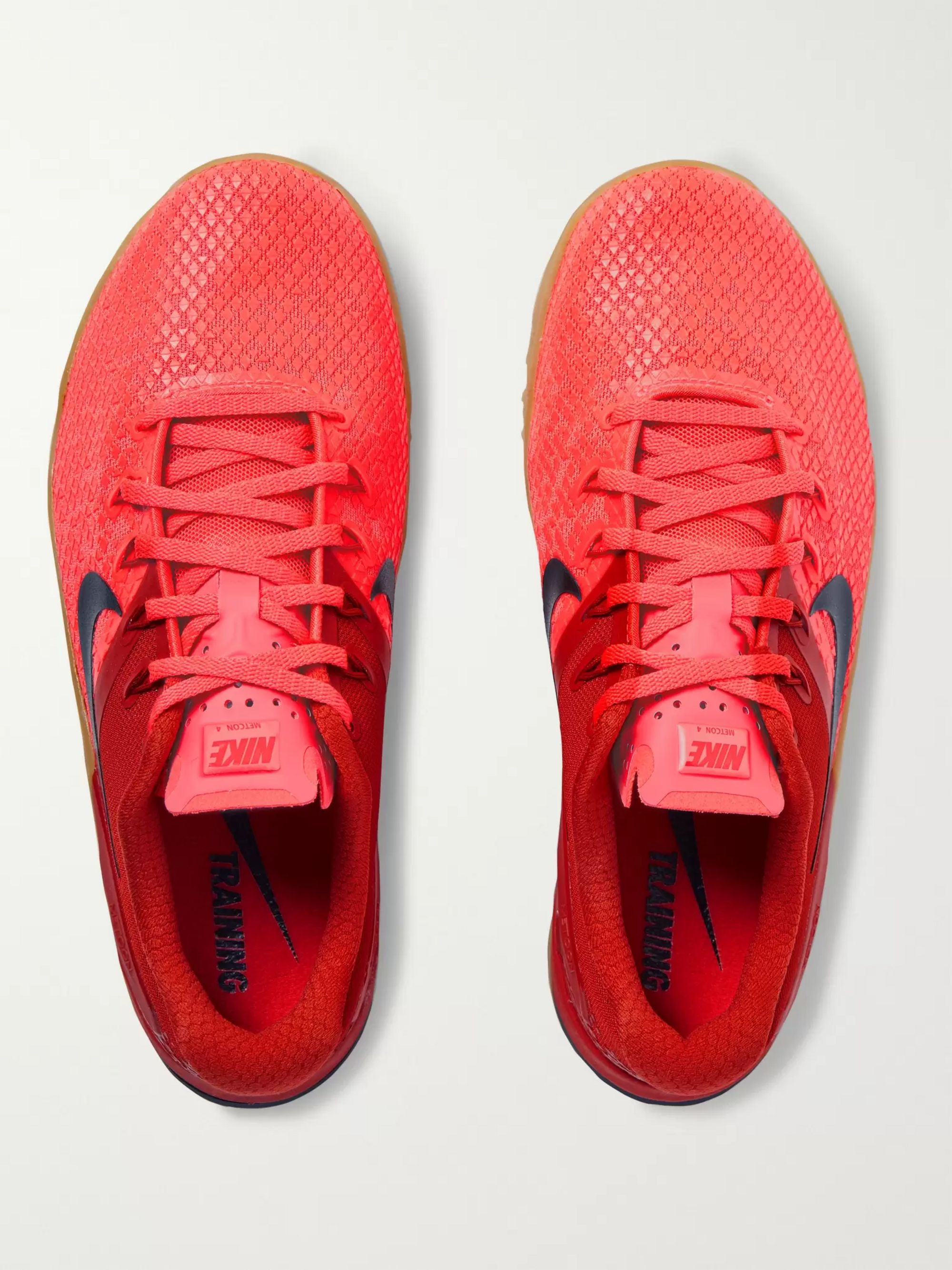 Metcon 4 XD X Rubber Trimmed Mesh Sneakers