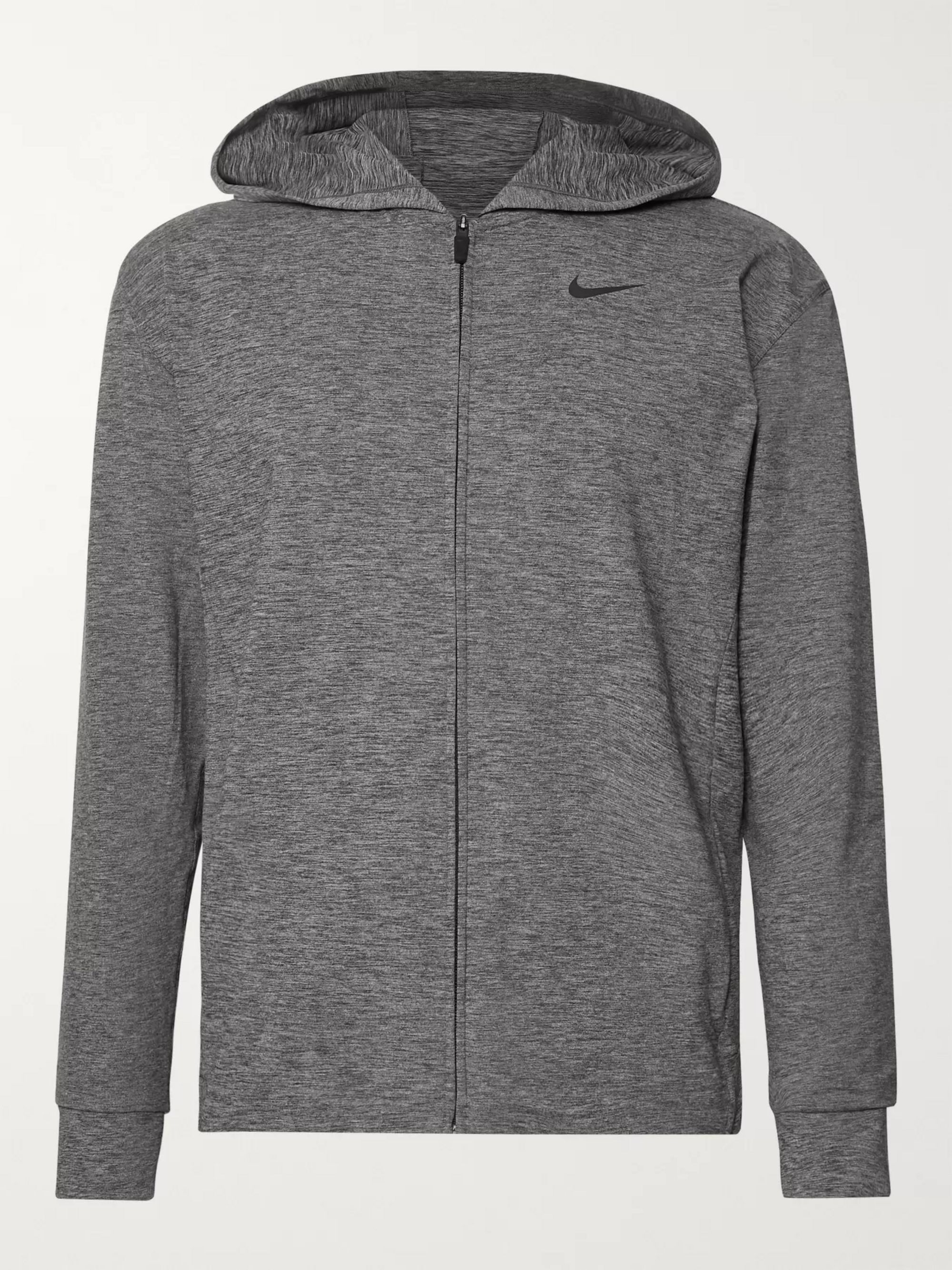 Nike Training Mélange Dri-FIT Zip-Up Hoodie