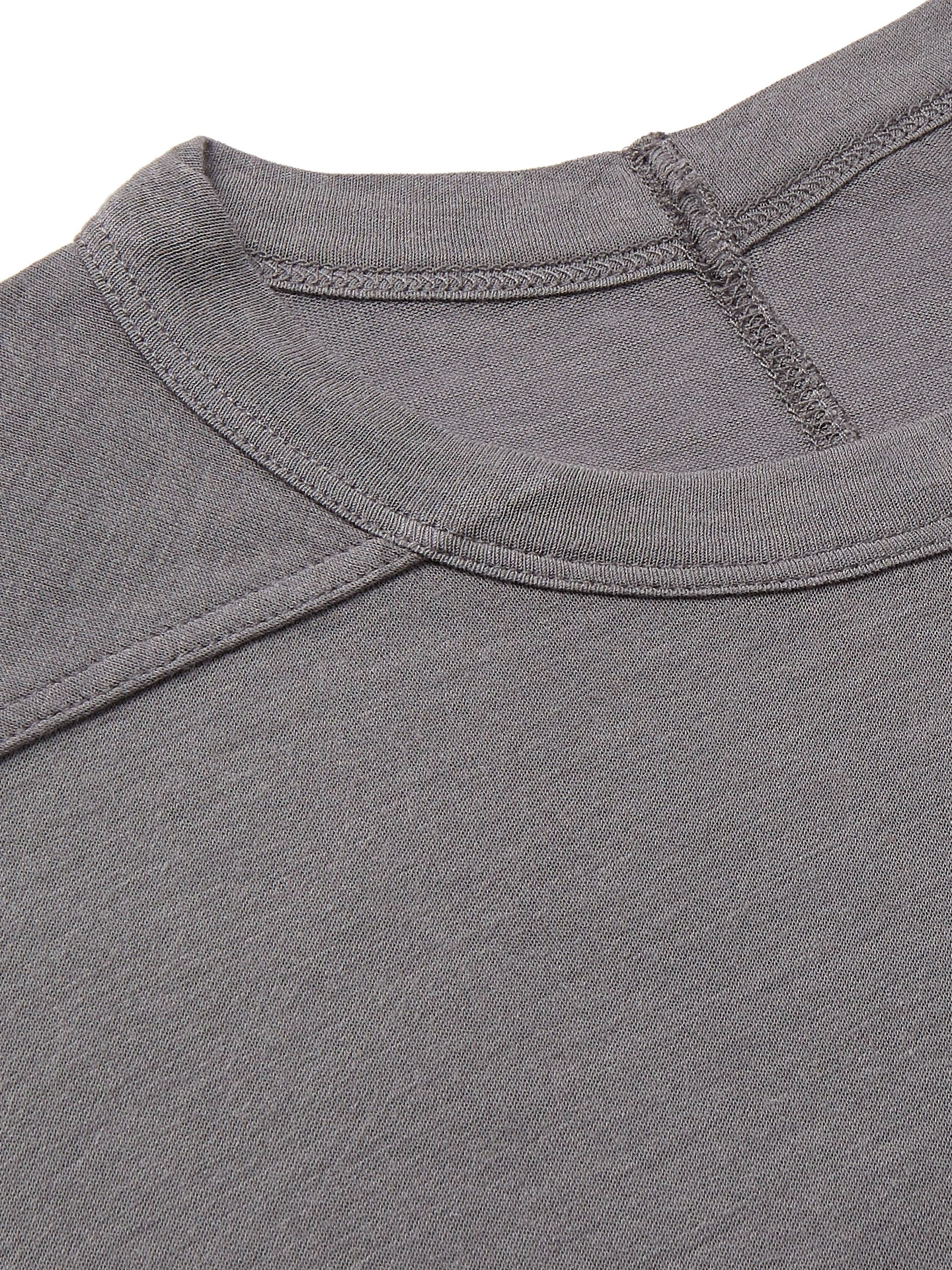 Rick Owens Level Stretch-Jersey T-Shirt