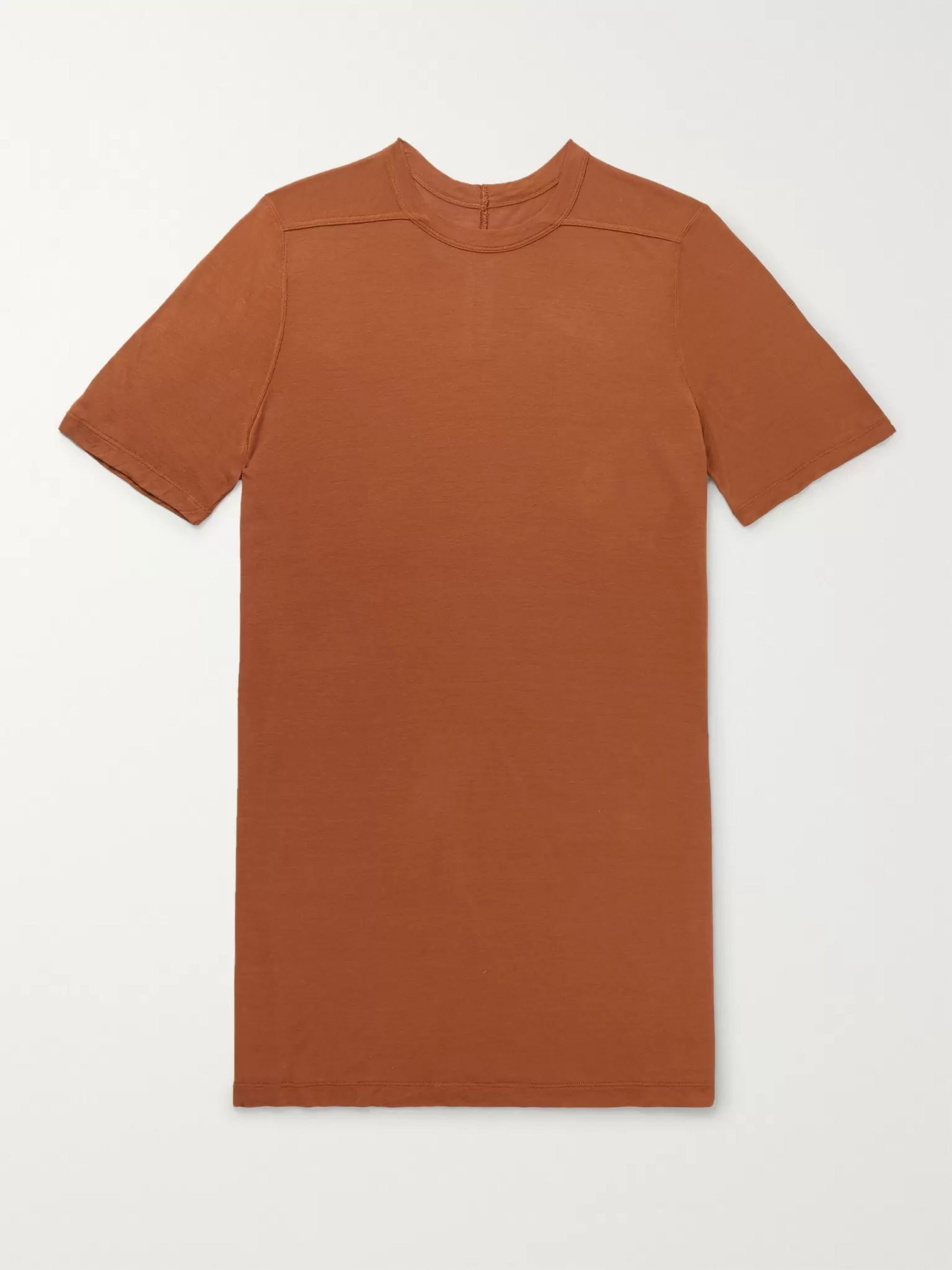 Level Stretch Jersey T Shirt by Rick Owens