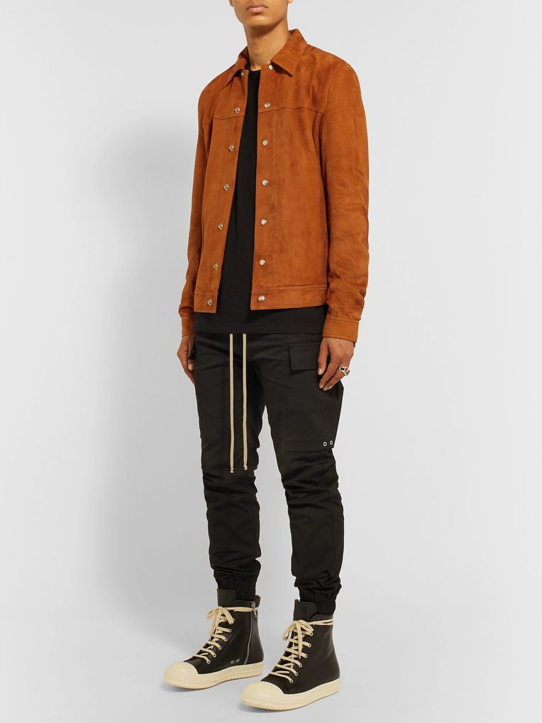 Rick Owens Suede Overshirt