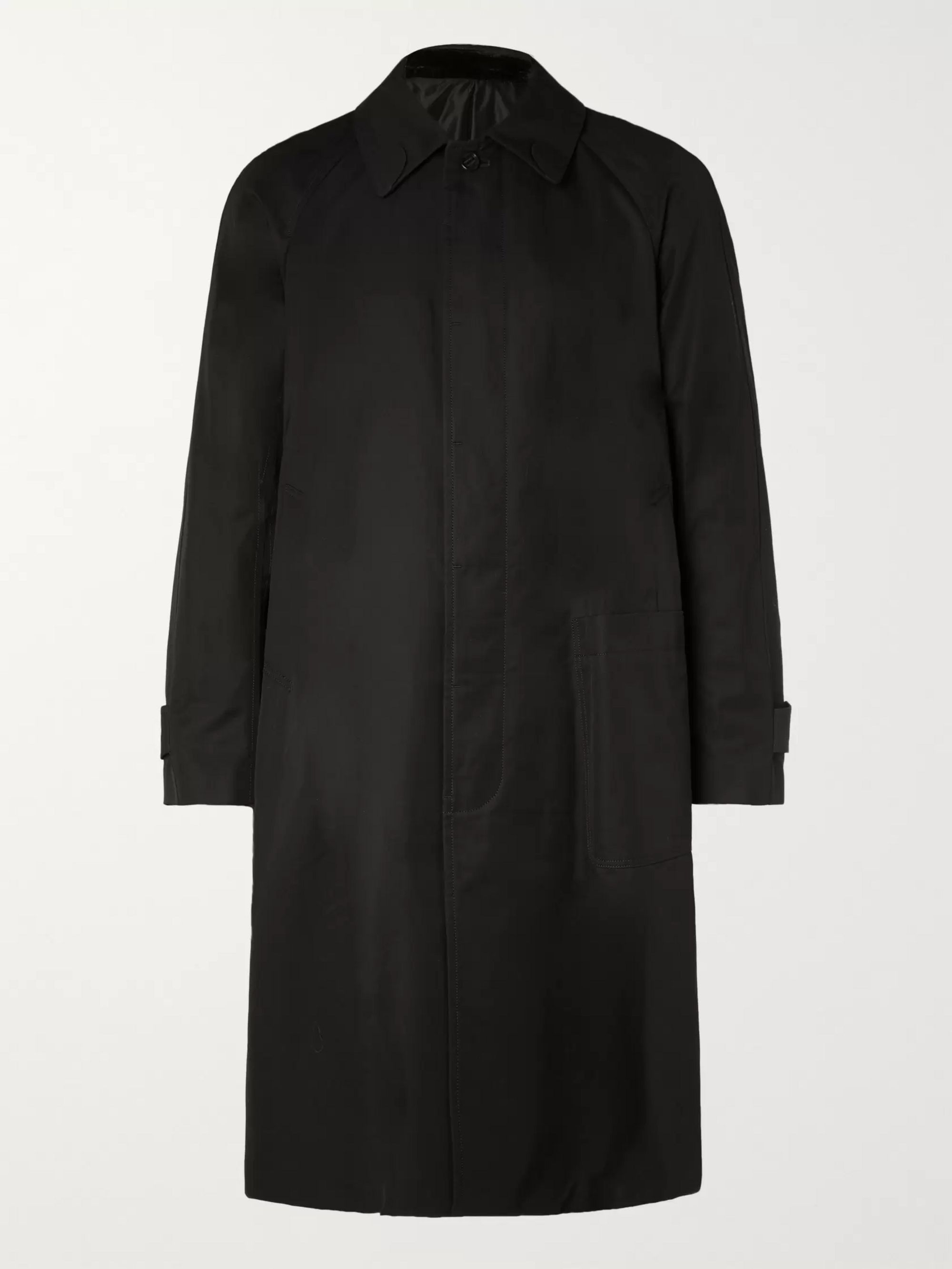 TAKAHIROMIYASHITA TheSoloist. Appliquéd Cotton-Gabardine Trench Coat