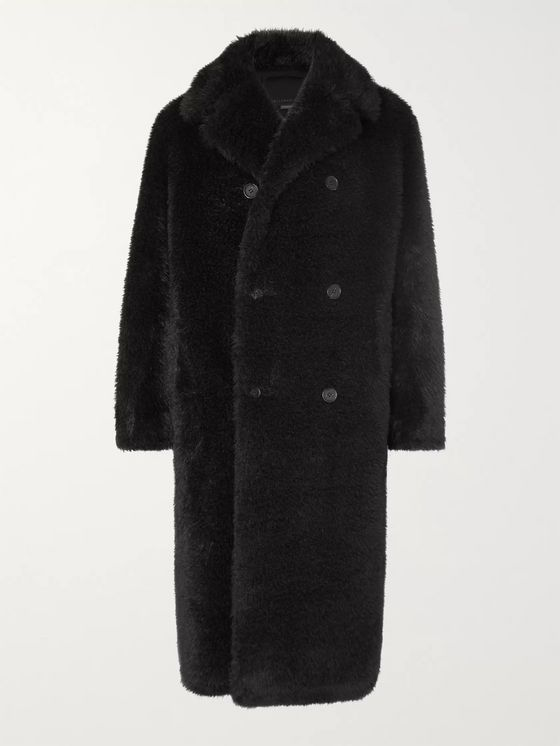 Stella McCartney Lance Faux Fur Coat