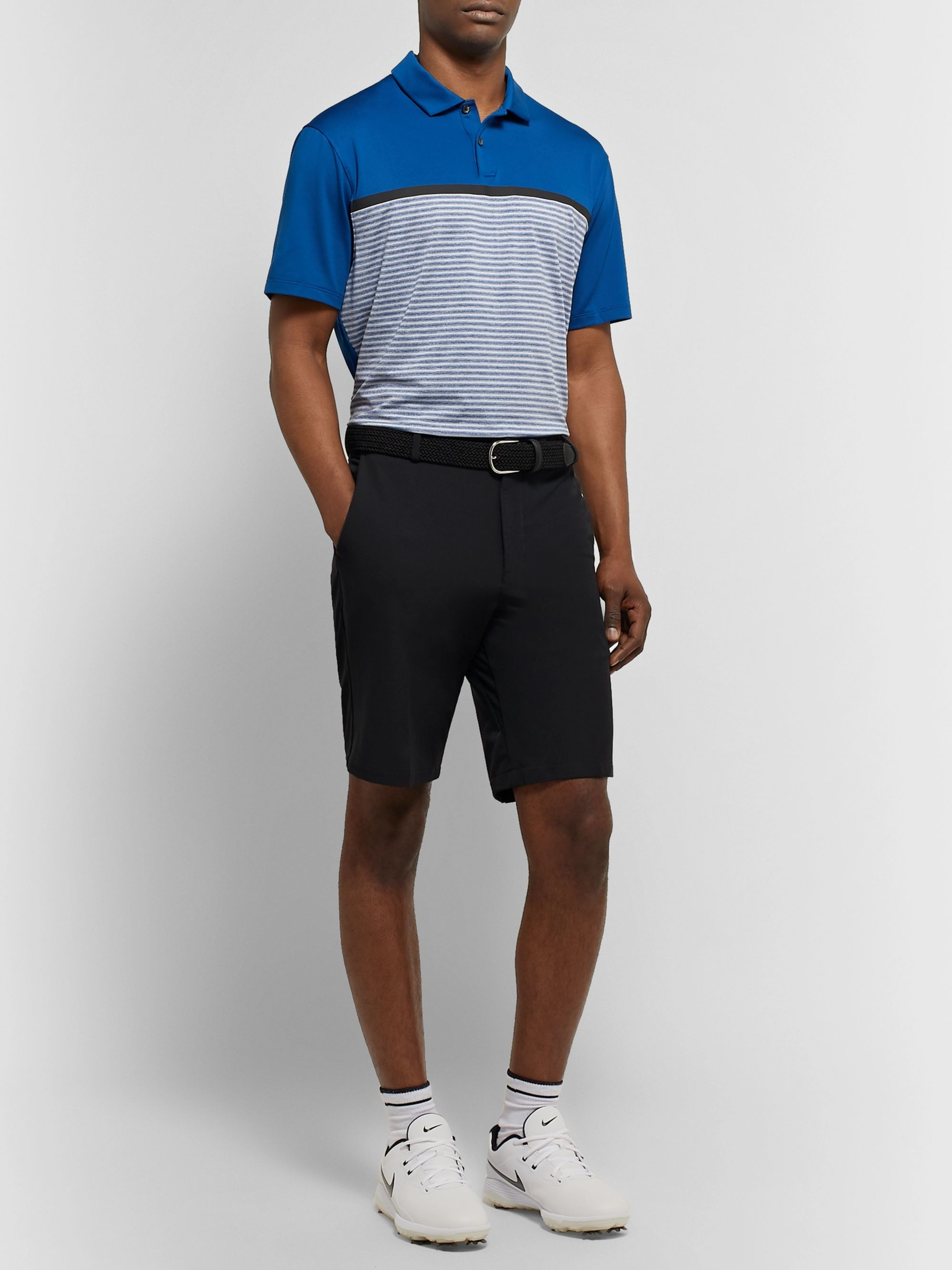Nike Golf Tiger Woods Vapor Striped Dri-FIT Polo Shirt
