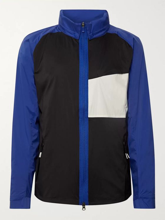 Nike Golf Shield Colour-Block Nylon Golf Jacket