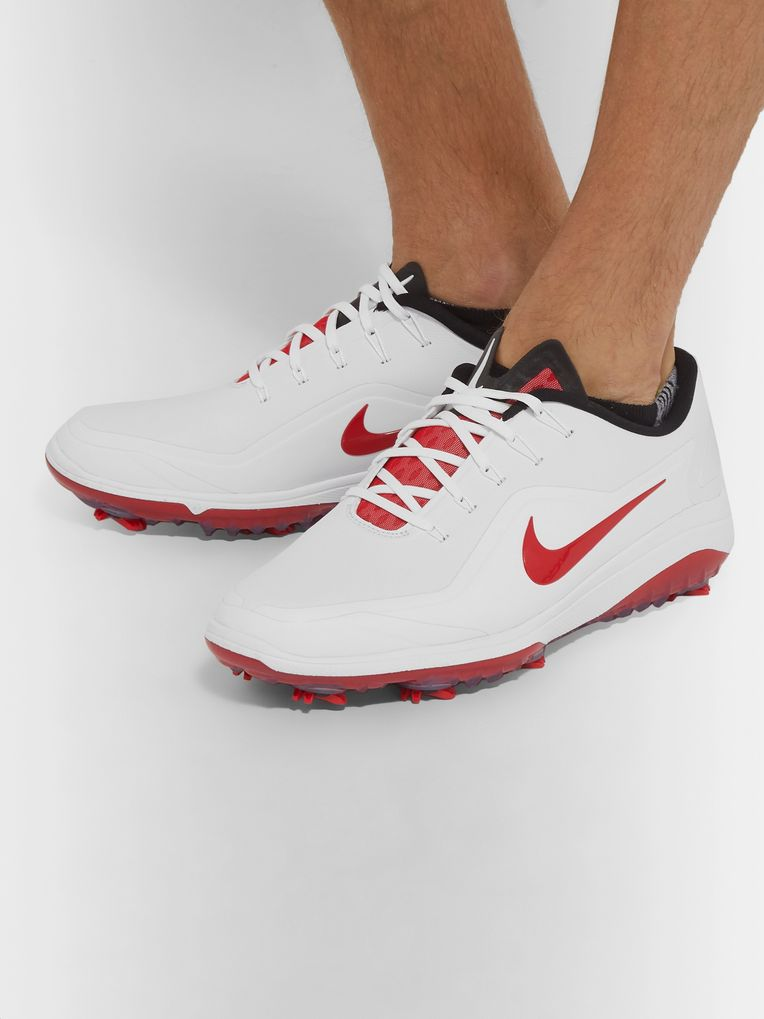 Nike Golf React Vapor 2 Coated-Mesh Golf Shoes