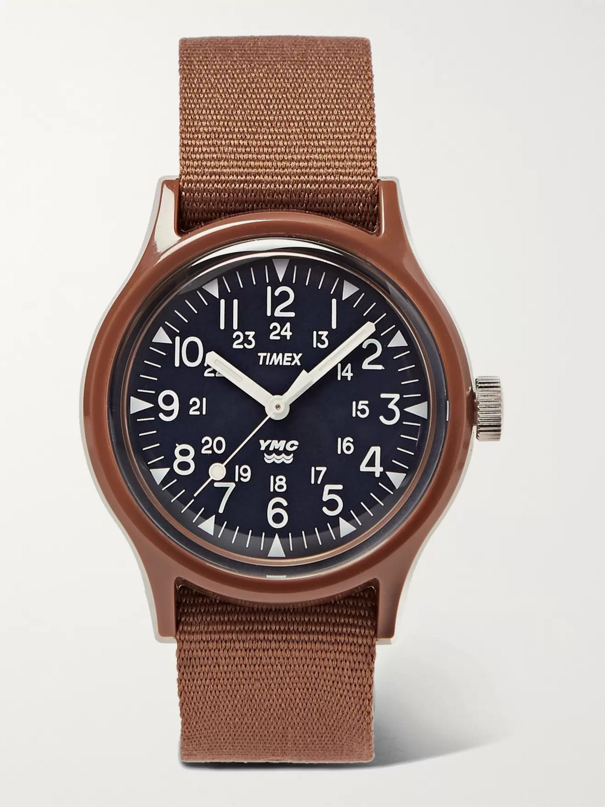 Timex + YMC Resin and Nylon-Webbing Watch