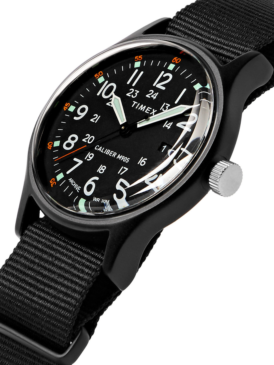 Timex MK1 Camper Aluminium and Grosgrain Watch