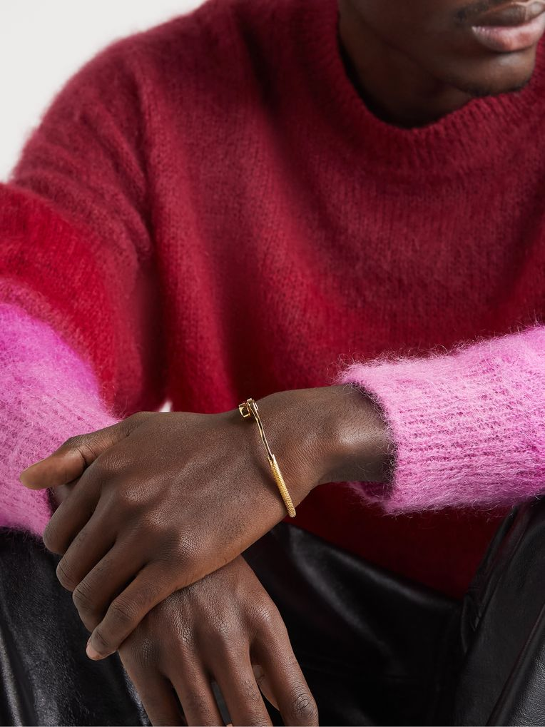 Luis Morais Wrench Gold Bracelet