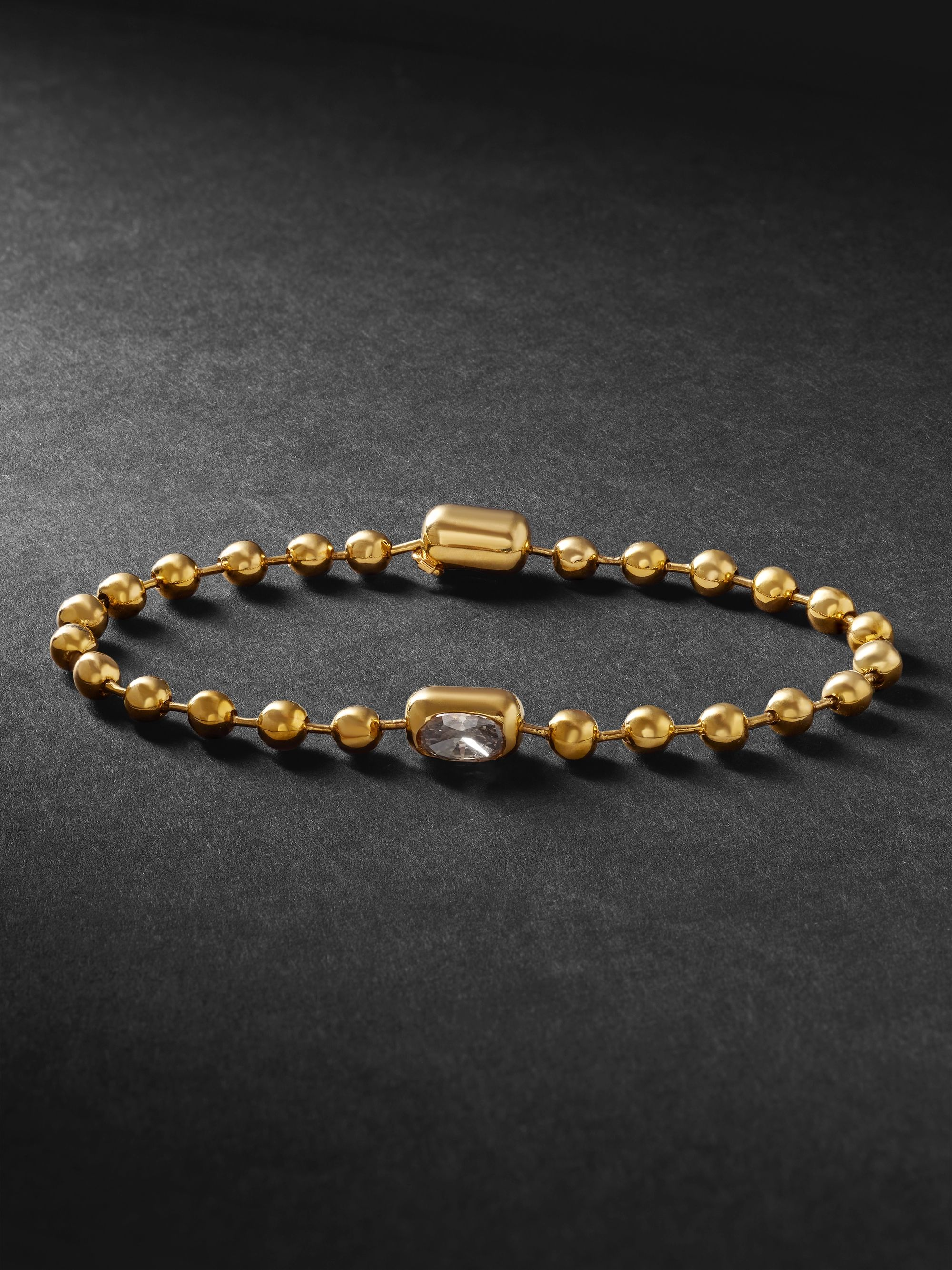 Luis Morais Gold Diamond Bracelet