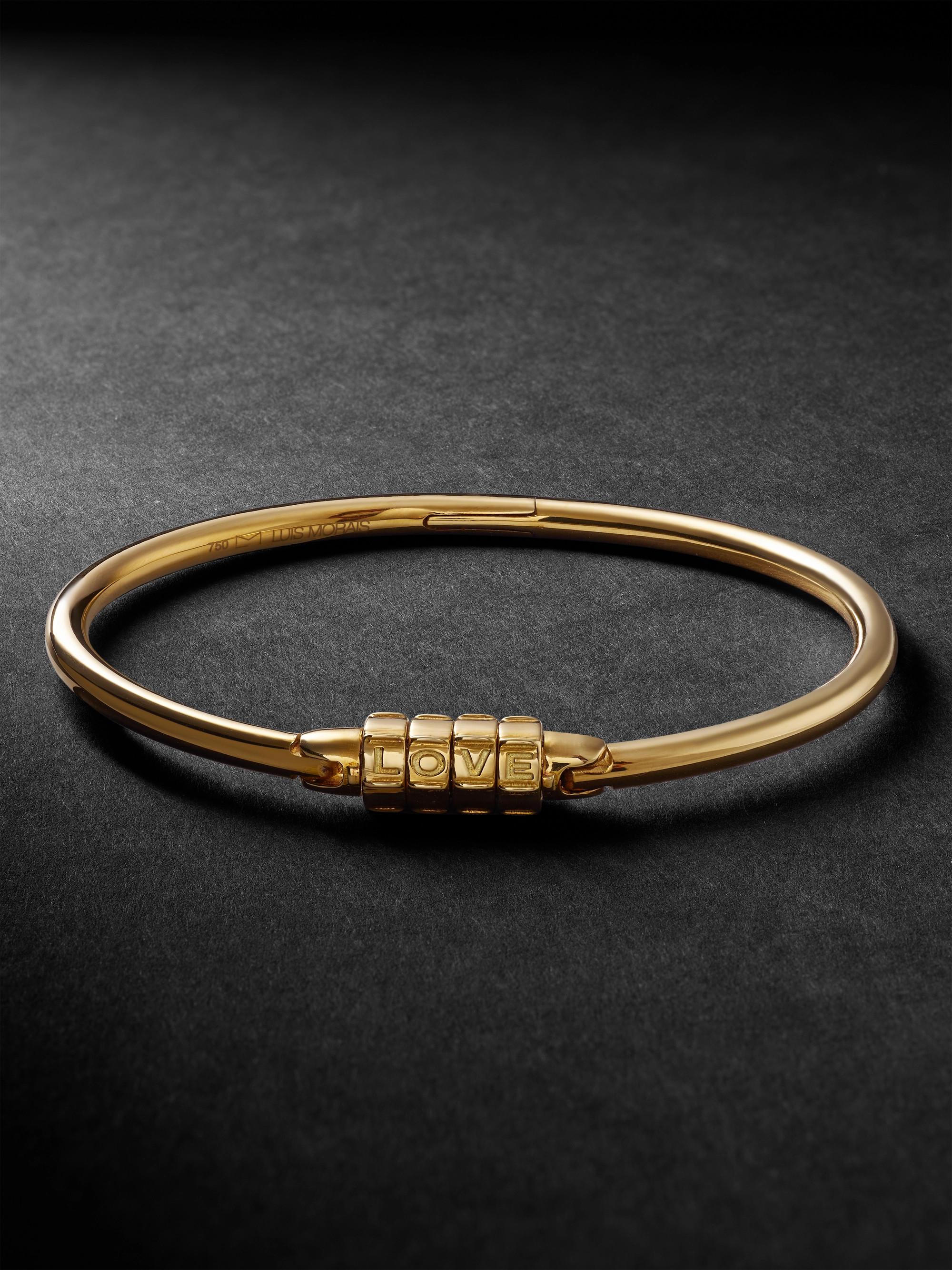 5fb1df68fb1d5 Love Lock Gold Bracelet