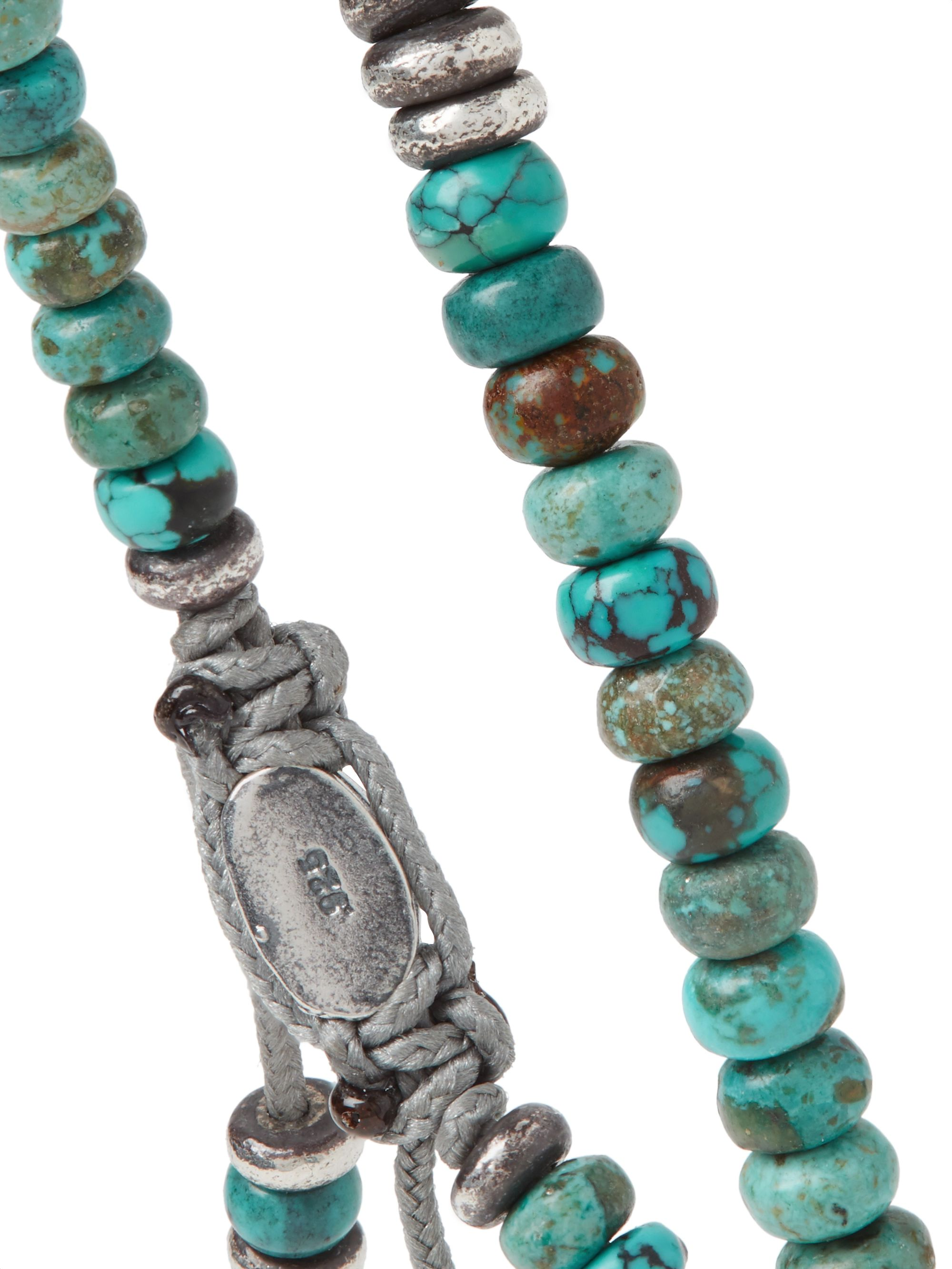 M.Cohen Sterling Silver Turquoise Bracelet
