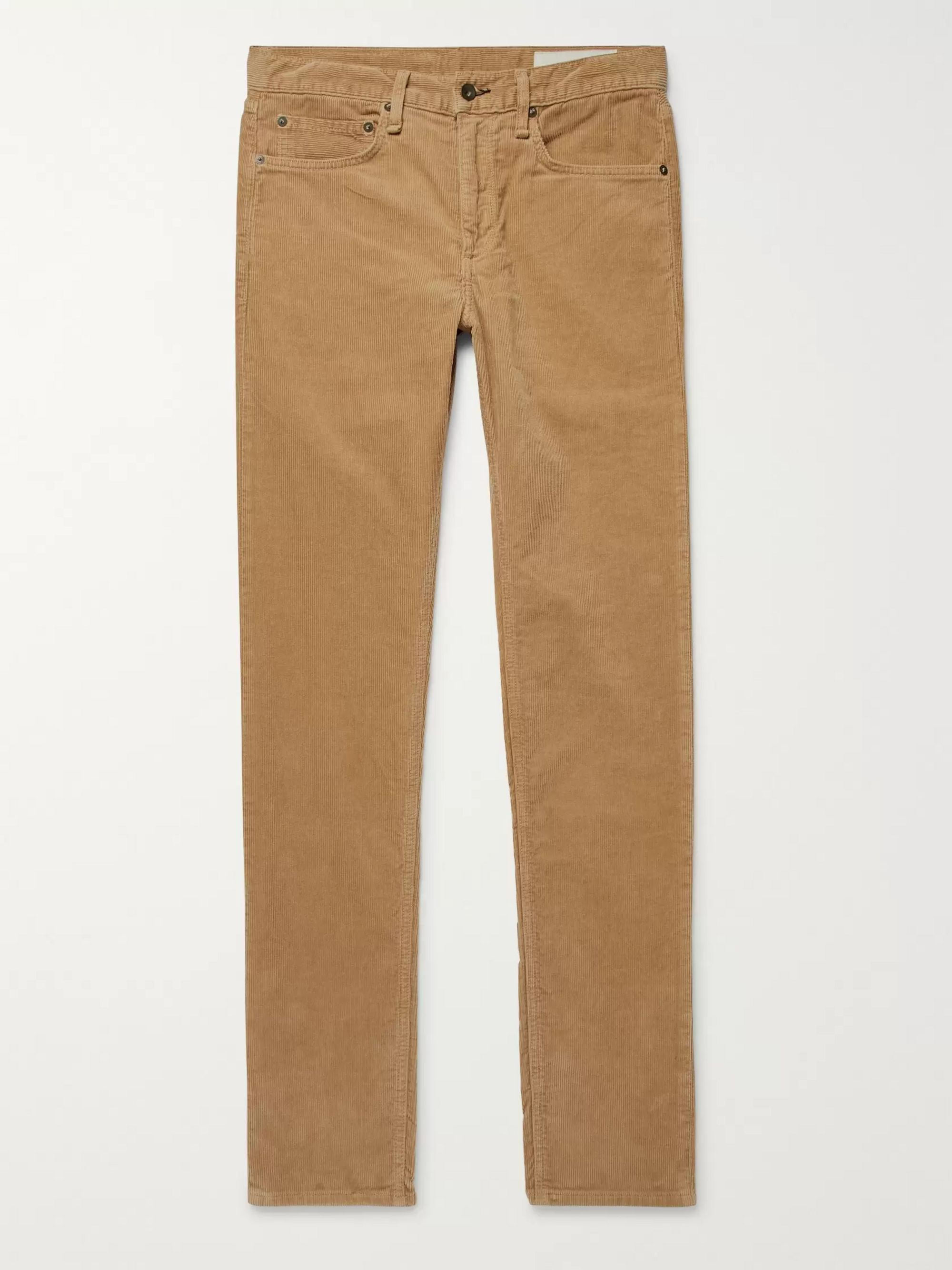 rag & bone Stretch Cotton-Corduroy Trousers