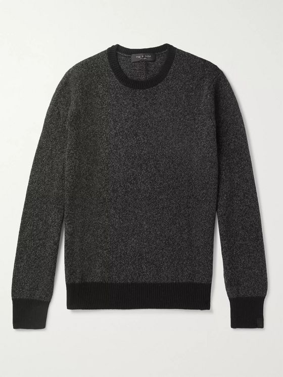 rag & bone Haldon Recycled Cashmere-Blend Sweater