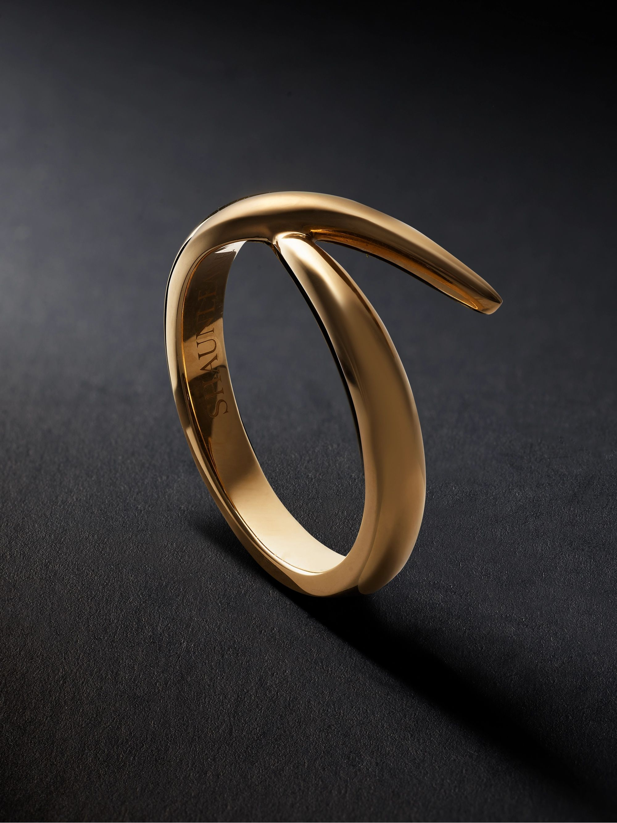 Shaun Leane Interlock Me 18-Karat Gold Ring