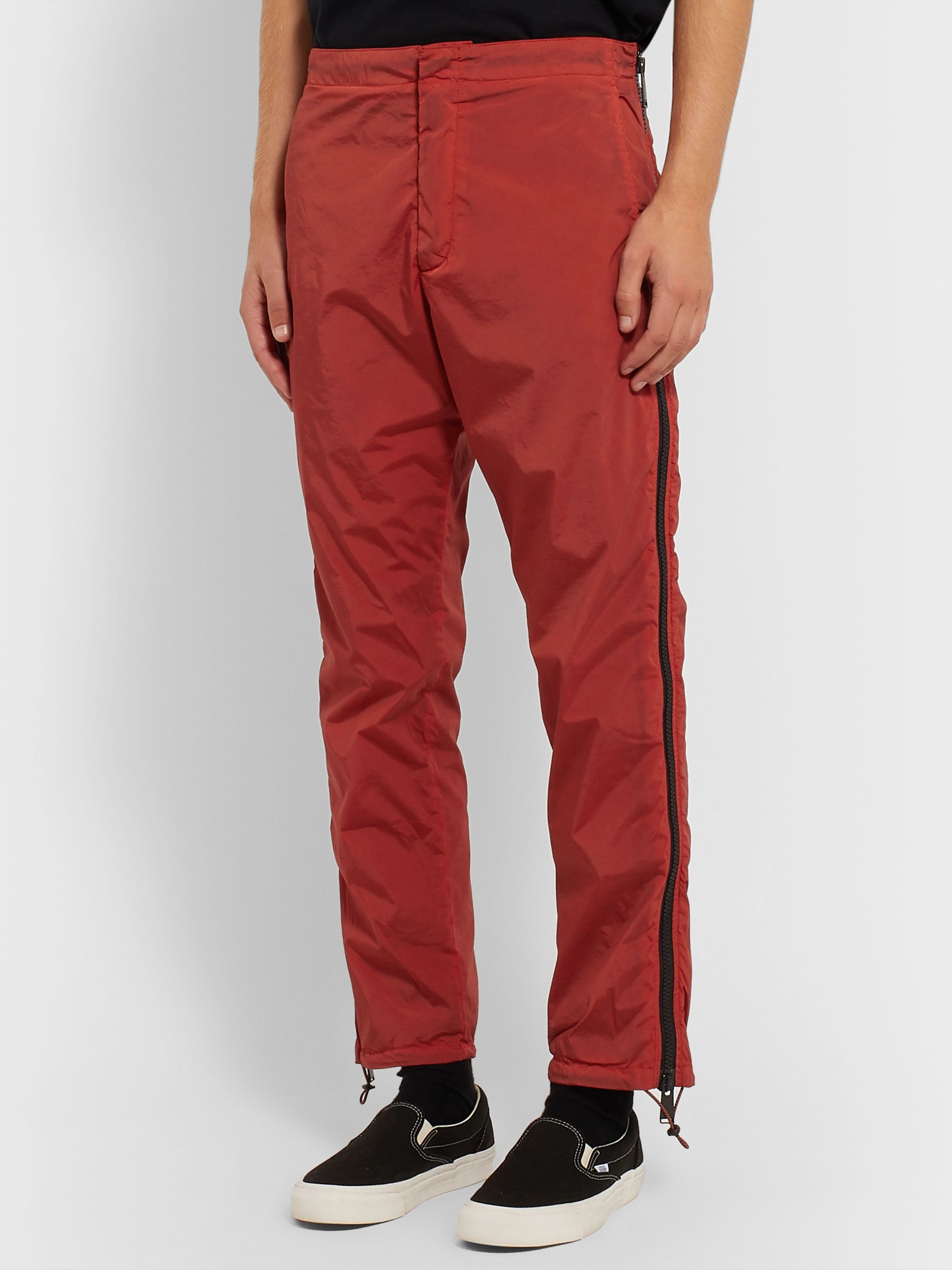 Heron Preston Zip-Detailed Shell Trousers