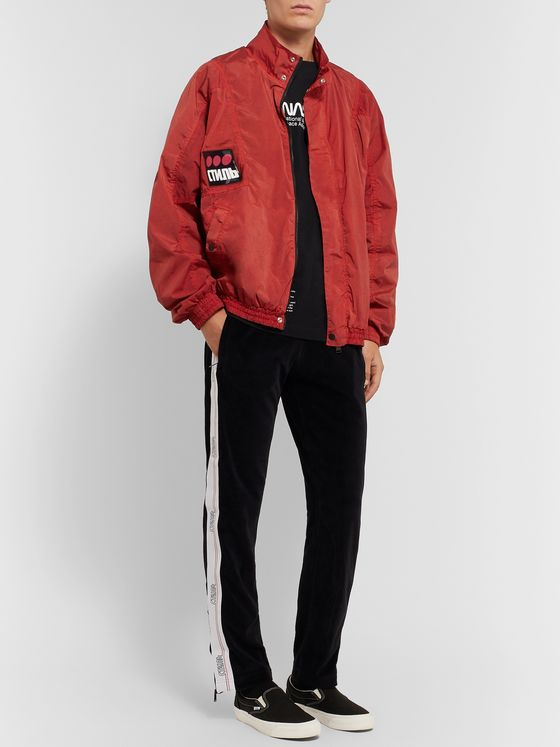 Heron Preston Logo-Appliquéd Shell Jacket