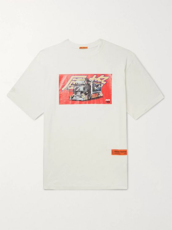 Heron Preston Printed Cotton-Jersey T-Shirt