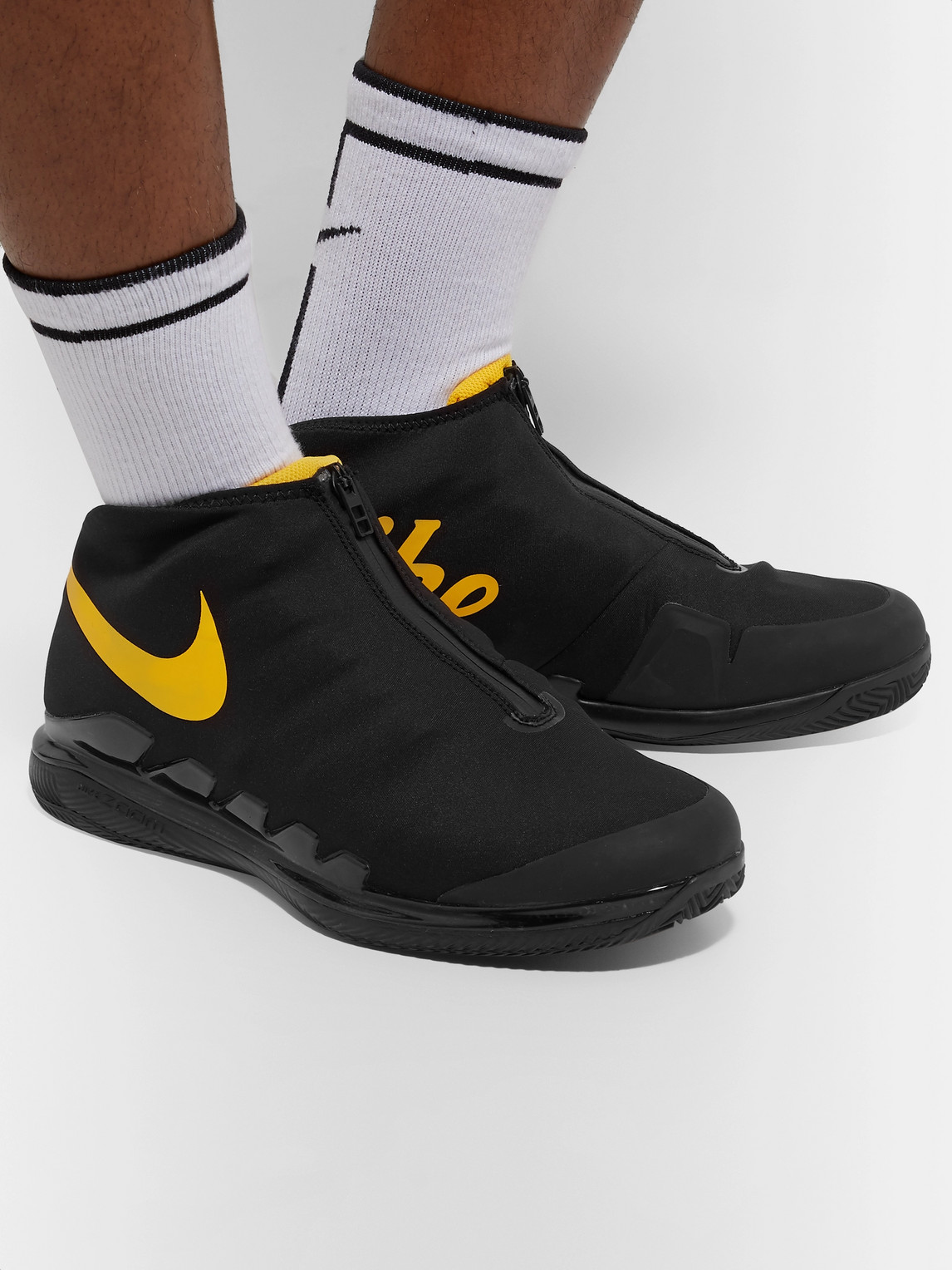 Nike Sneakers AIR ZOOM VAPOR X GLOVE NEOPRENE, RUBBER AND MESH TENNIS SNEAKERS