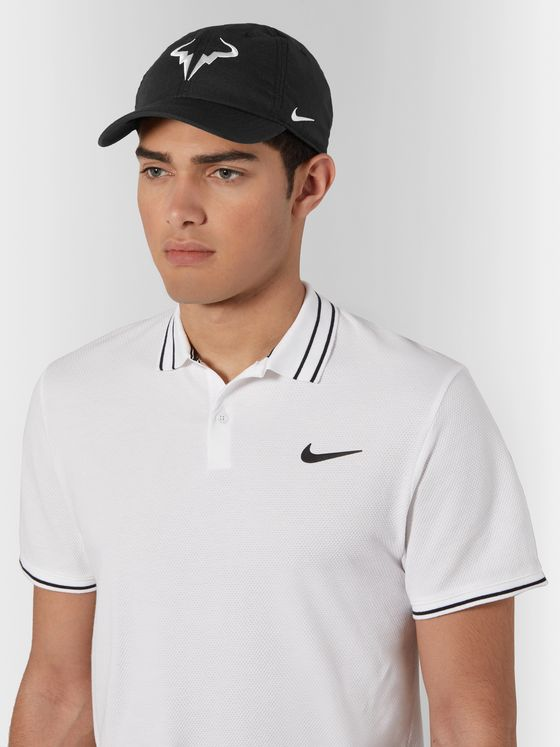 NIKE TENNIS Rafa AeroBill Heritage 86 Logo-Embroidered Dri-FIT Tennis Cap