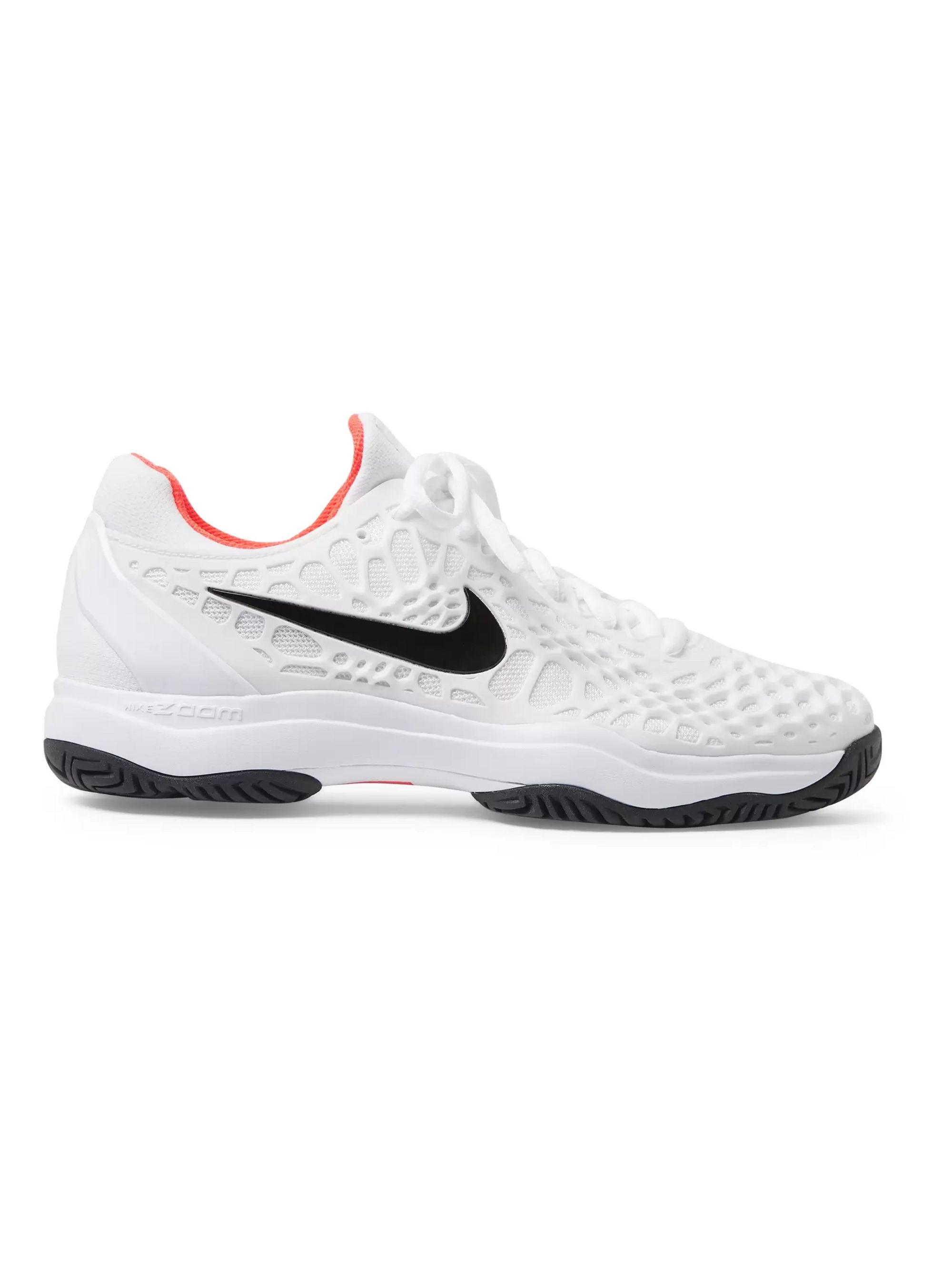 Nike Tennis Air Zoom Cage 3 Rubber And Mesh Tennis Sneakers