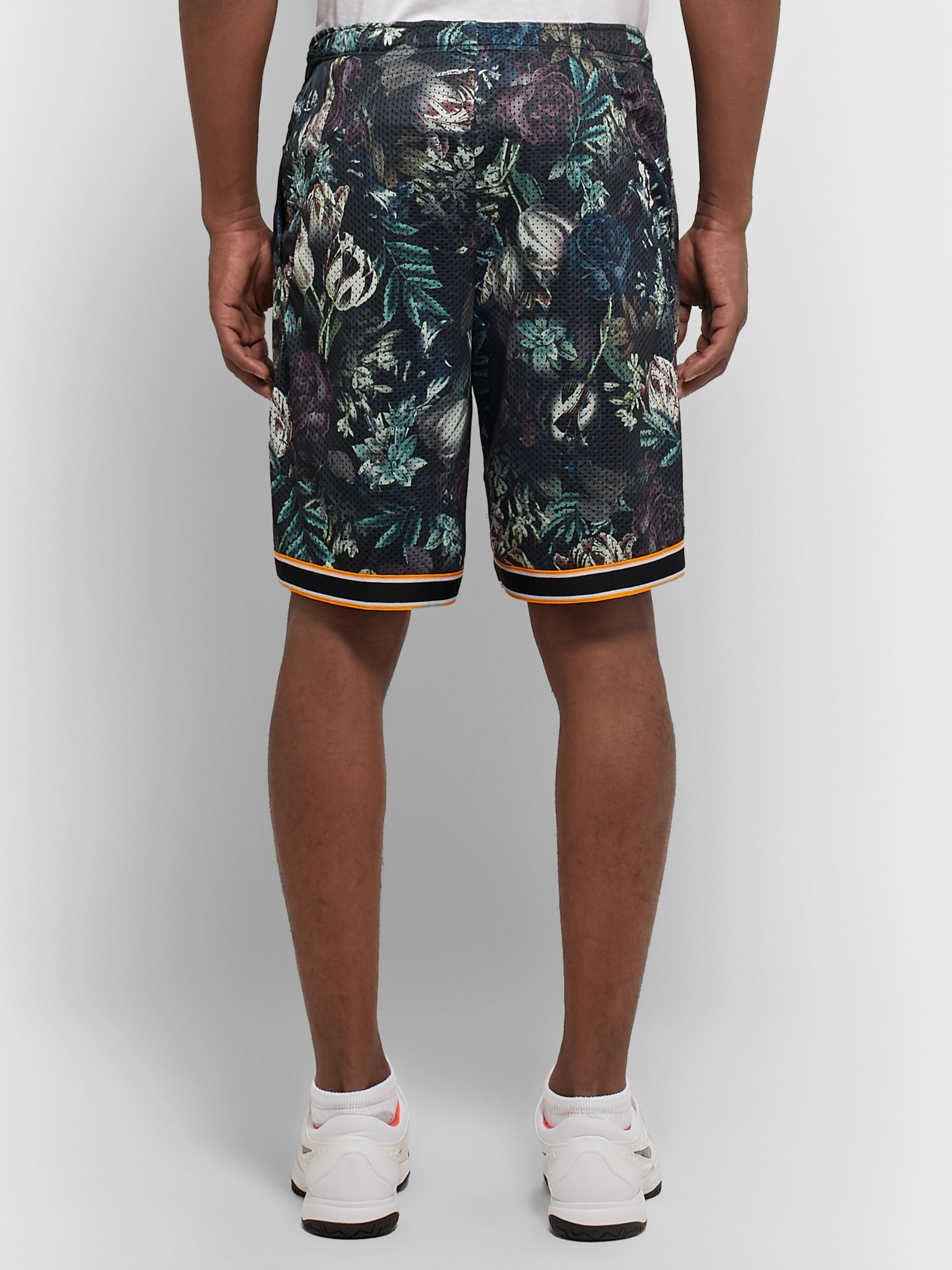 Nike Tennis NikeCourt Flex Ace Printed Dri-FIT Mesh Tennis Shorts