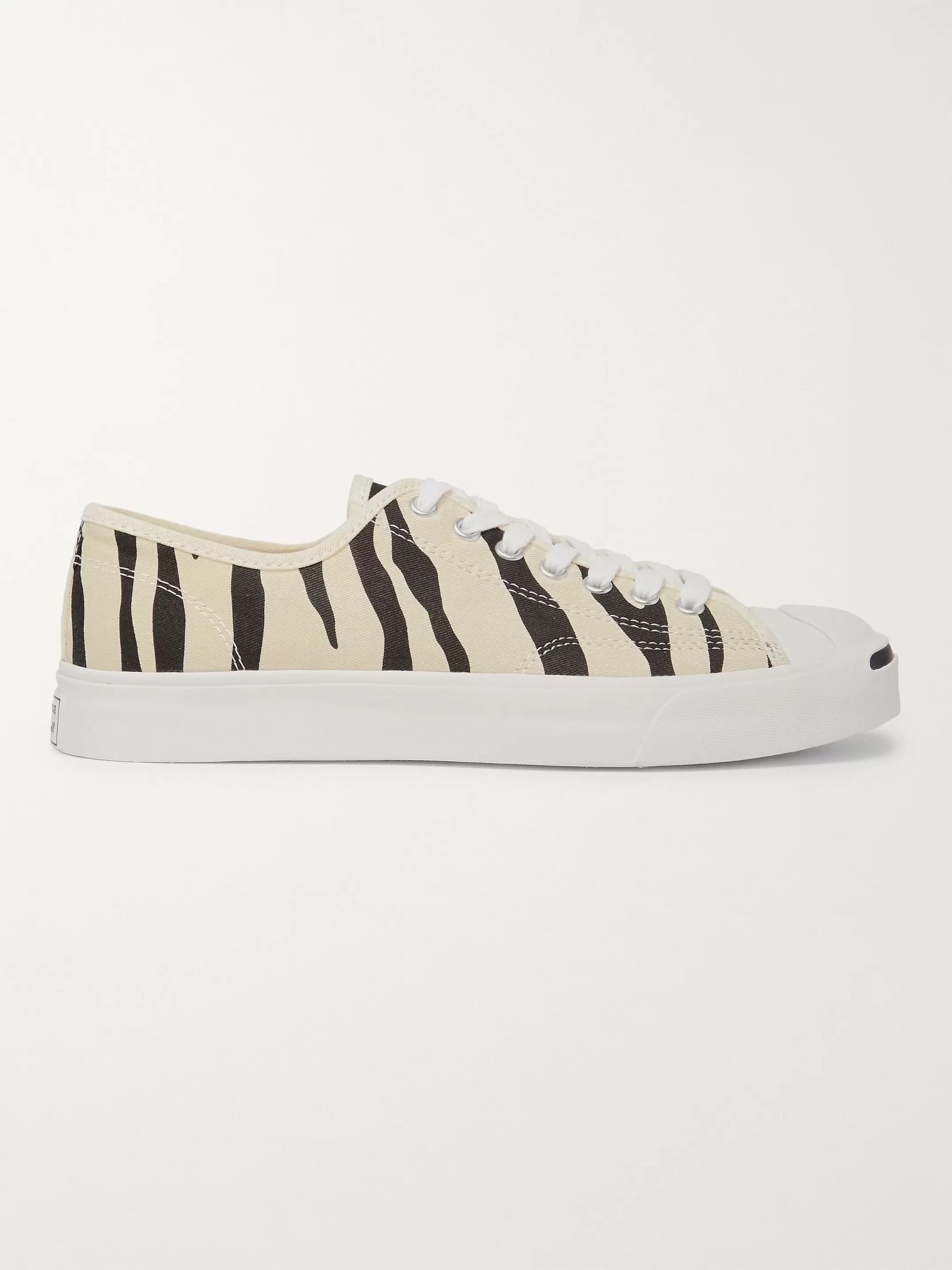 Converse Jack Purcell OX Animal-Print Canvas Sneakers