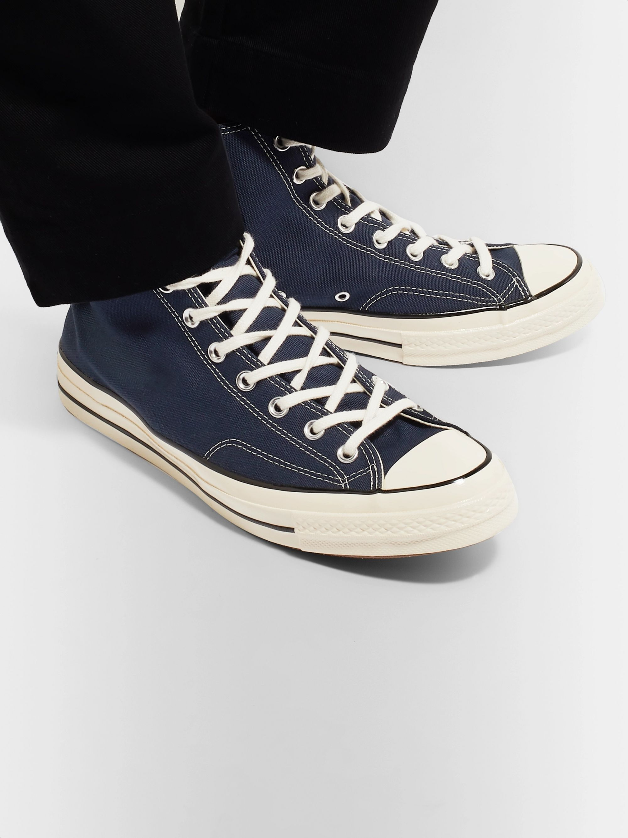 Chuck 70 Canvas High Top Sneakers