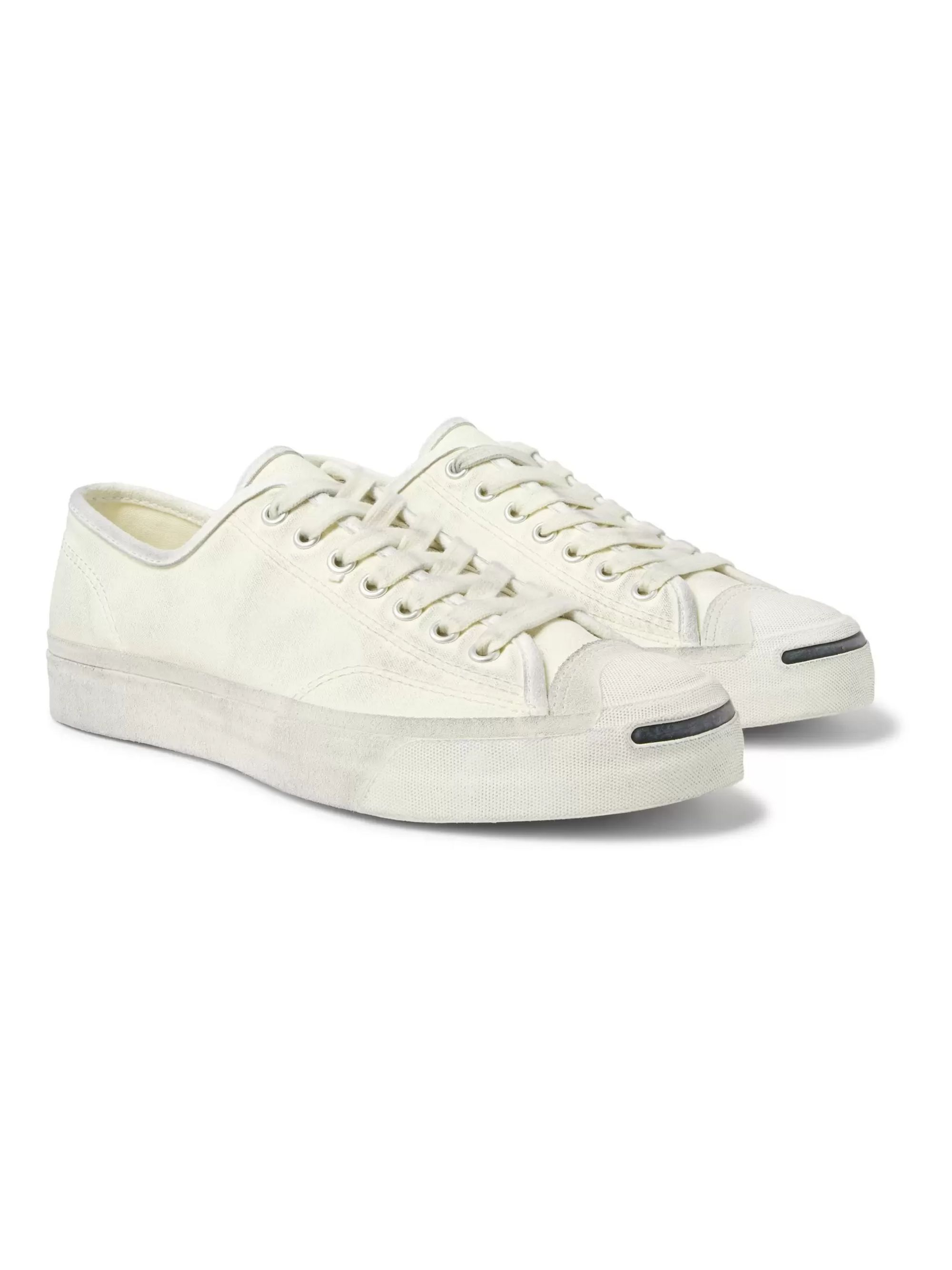 converse canvas white