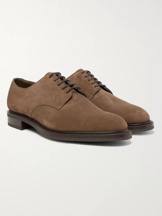 Edward Green Windermere Suede Derby Shoes