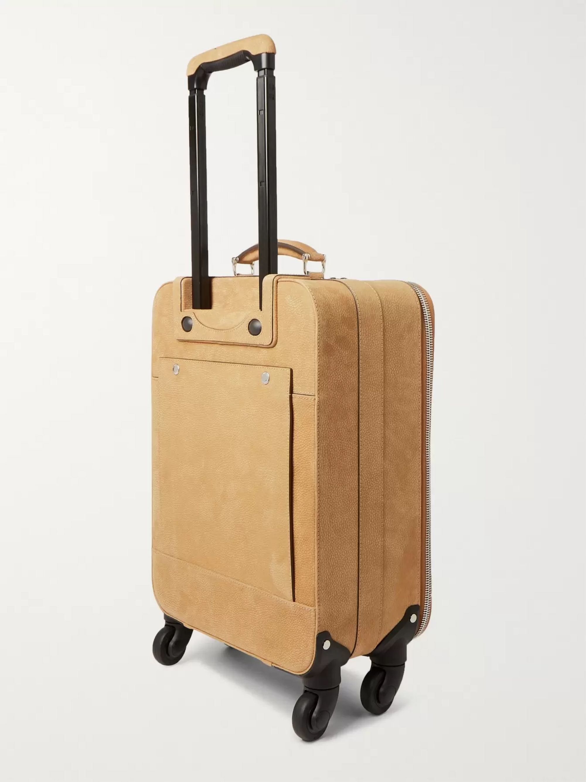 Brunello Cucinelli Nubuck Trolley Suitcase