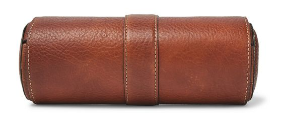 Brunello Cucinelli Full-Grain Leather Watch Roll