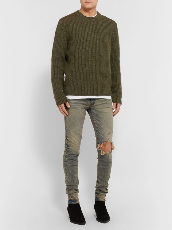 Alanui Ribbed Cashmere Sweater