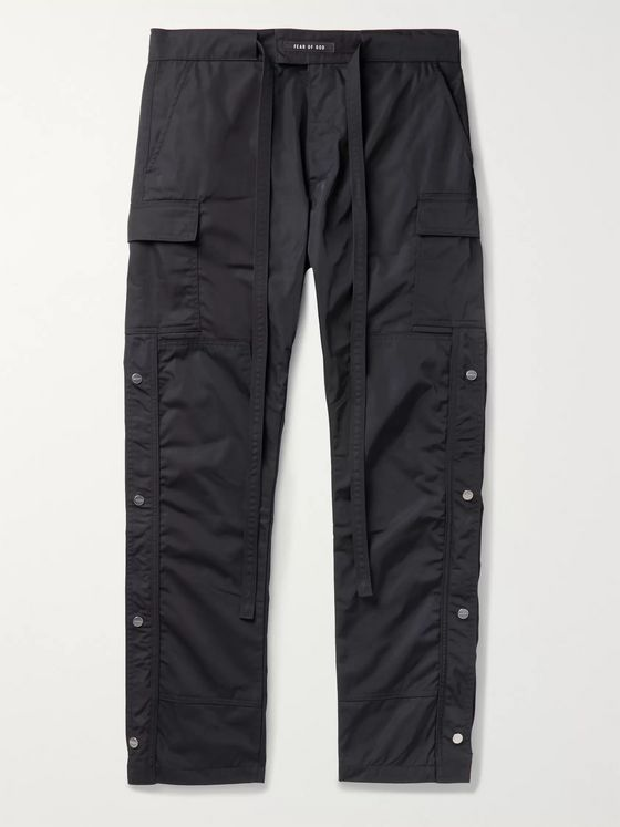 Fear of God Belted Nylon Cargo Trousers