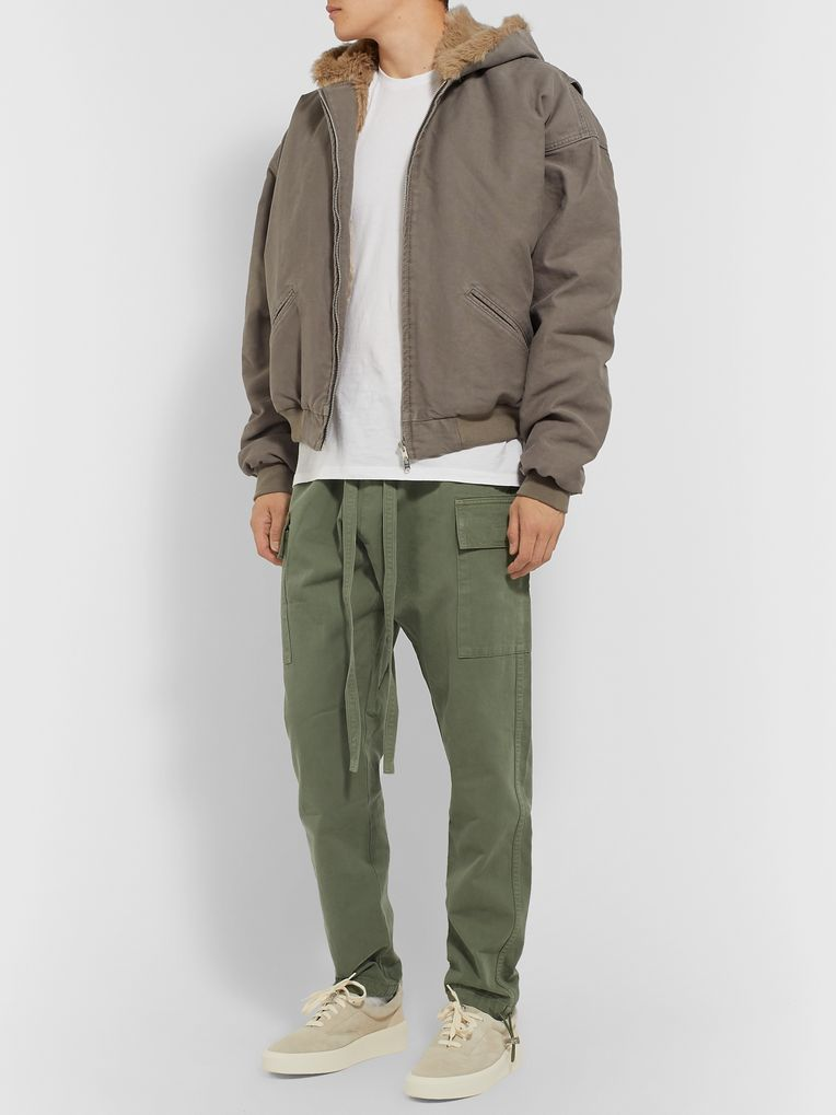 Fear of God Belted Cotton Cargo Trousers
