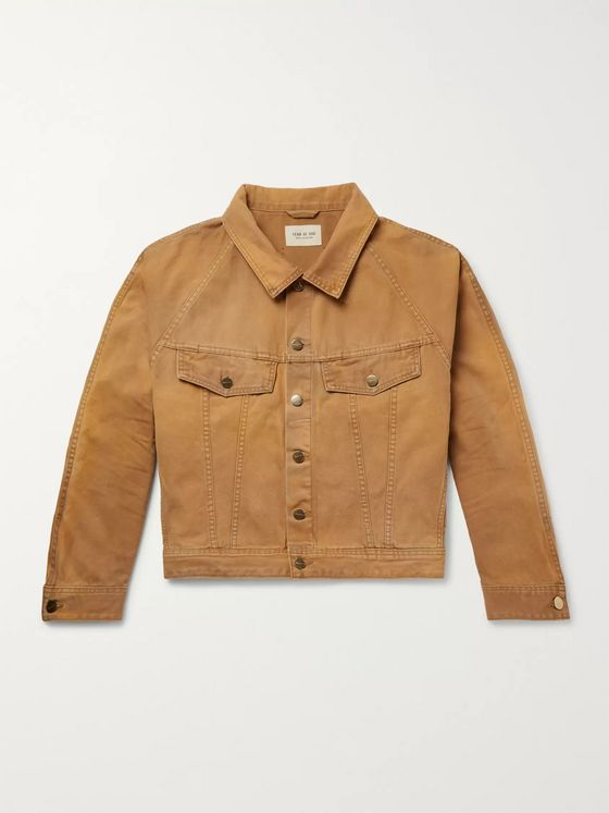 Fear of God Cotton-Canvas Trucker Jacket