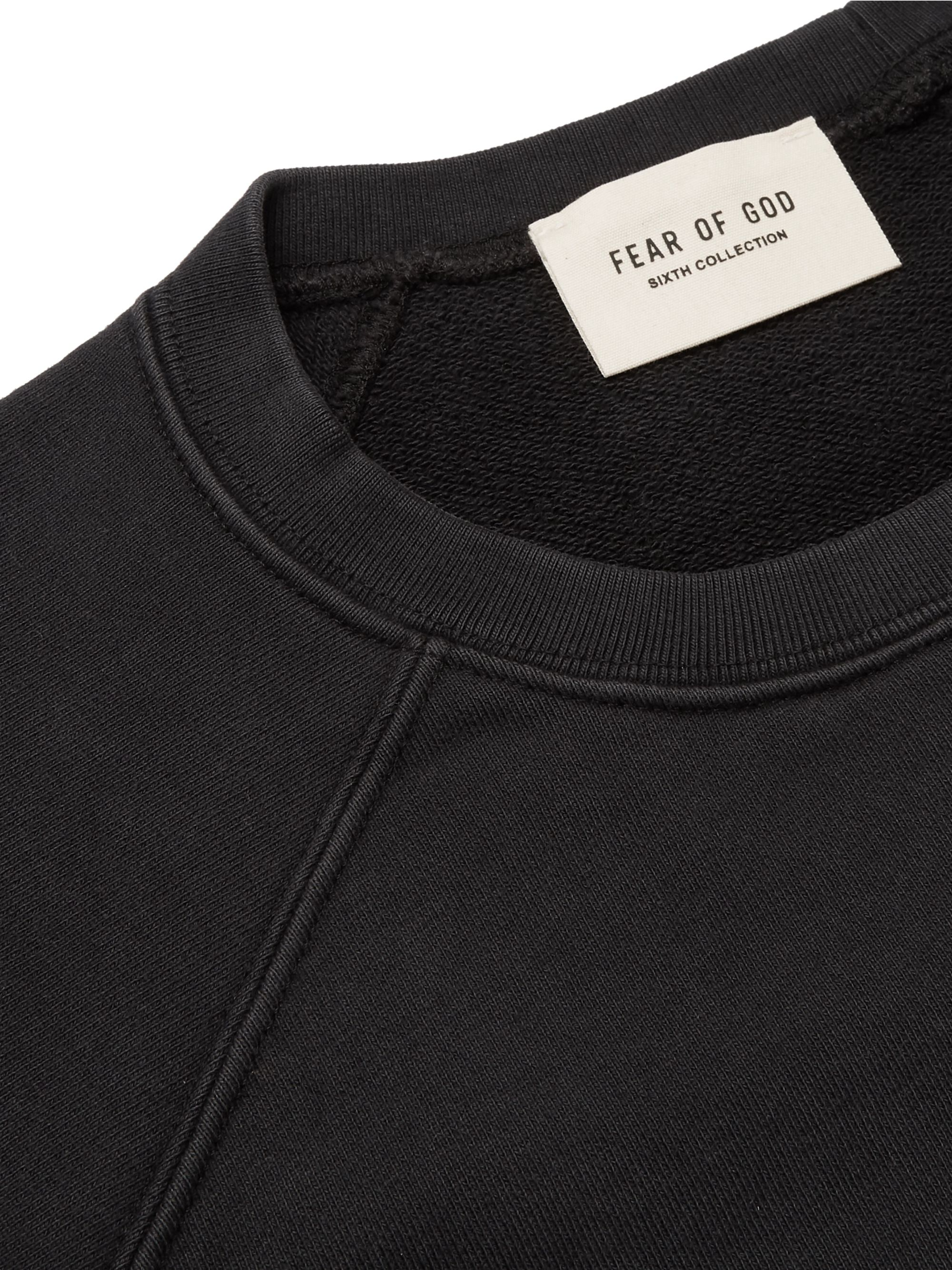Fear of God Oversized Loopback Cotton-Jersey Sweatshirt