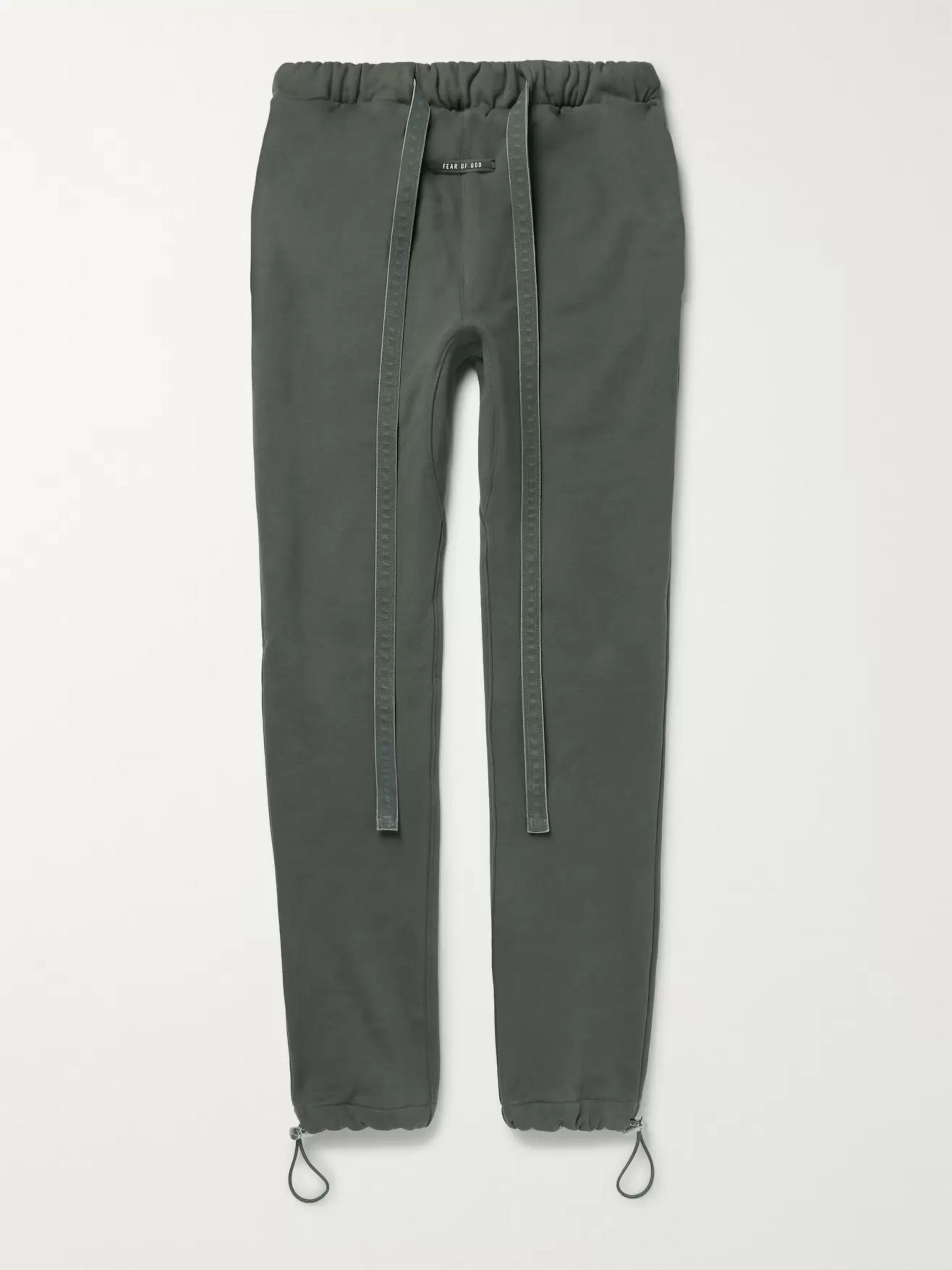 Fear of God Slim-Fit Tapered Loopback Cotton-Jersey Sweatpants