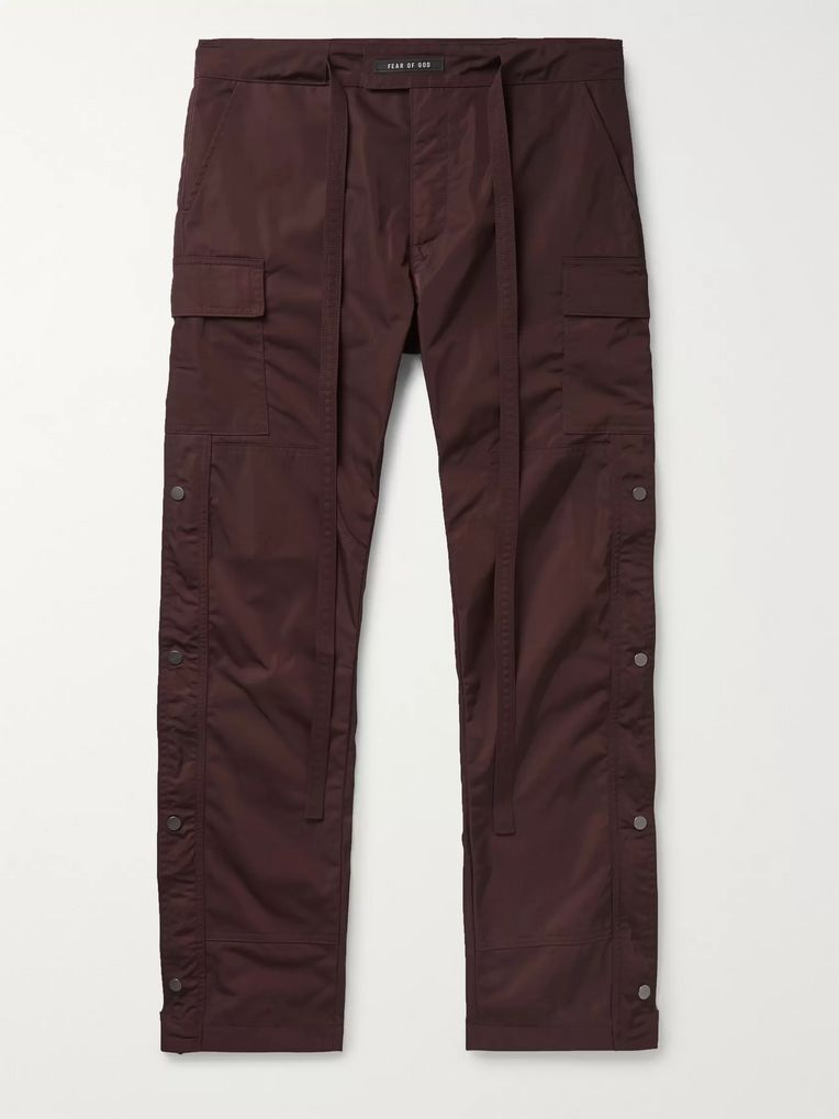 Fear of God Nylon-Twill Cargo Trousers