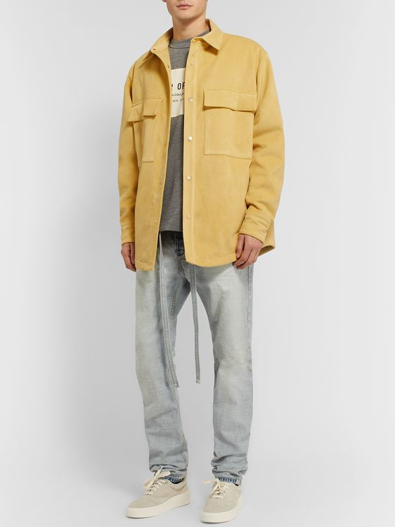 Fear of God Padded Faux Suede Overshirt