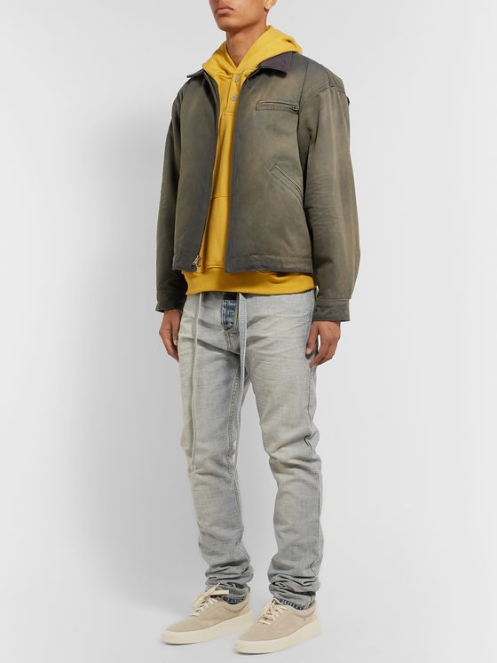 Fear of God Suede-Trimmed Cotton-Canvas Jacket