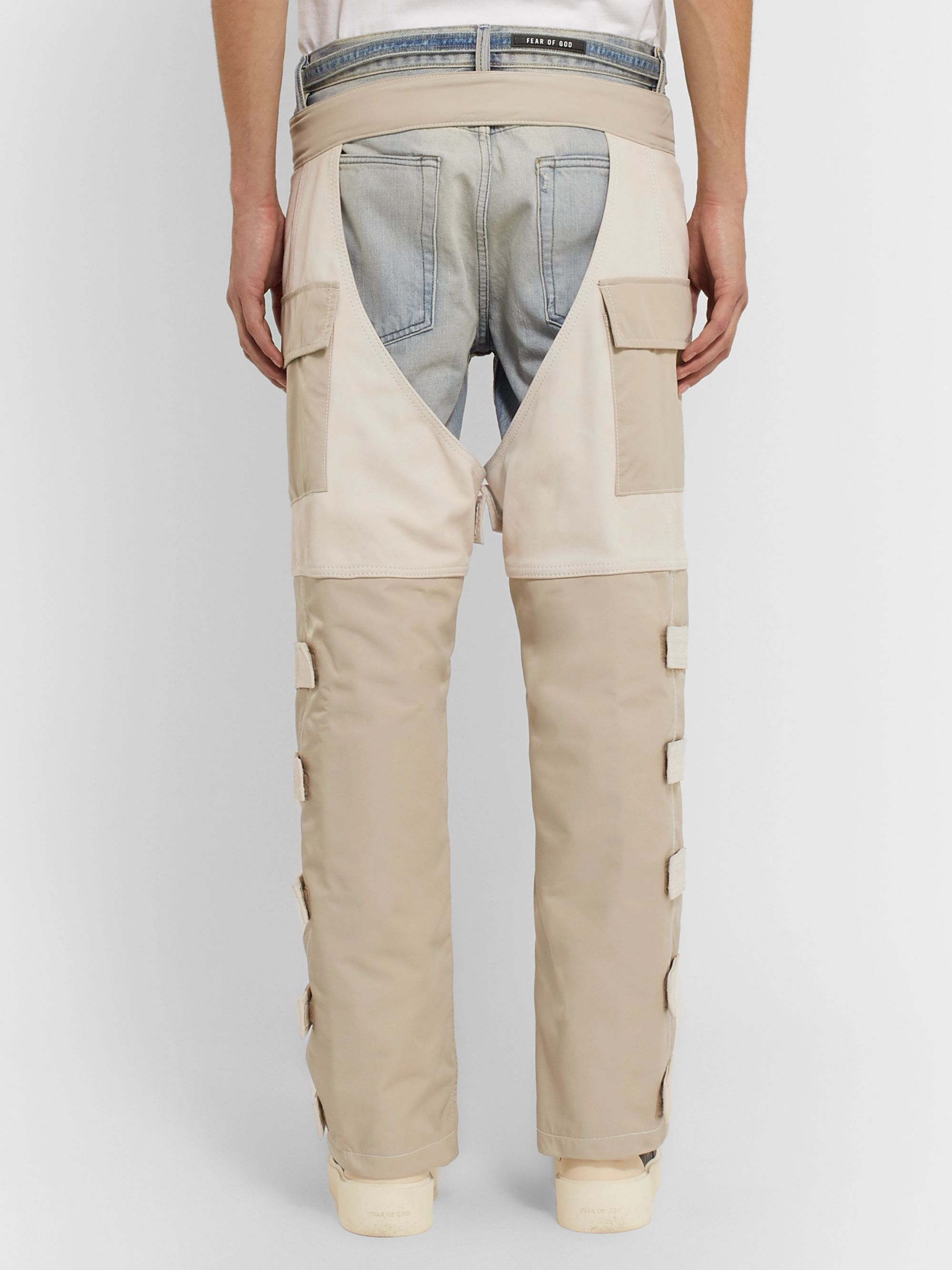 Fear of God Shell-Trimmed Nubuck Chaps